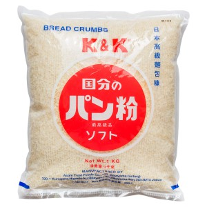 K & K Bread Crumbs (Made in Japan)