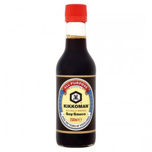 Kikkoman Soy Sauce 250mL - Made in Singapore