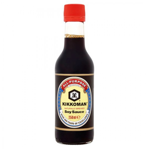 Kikkoman Soy Sauce 250mL (Made in Singapore)