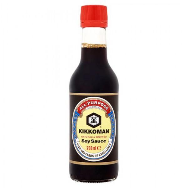 Kikkoman Soy Sauce 250mL - Made in Singapore