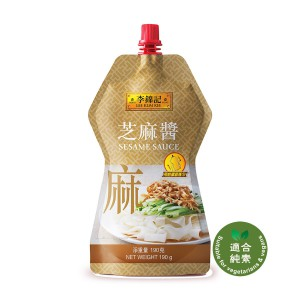 李錦記 芝麻醬直立唧唧裝 190g
