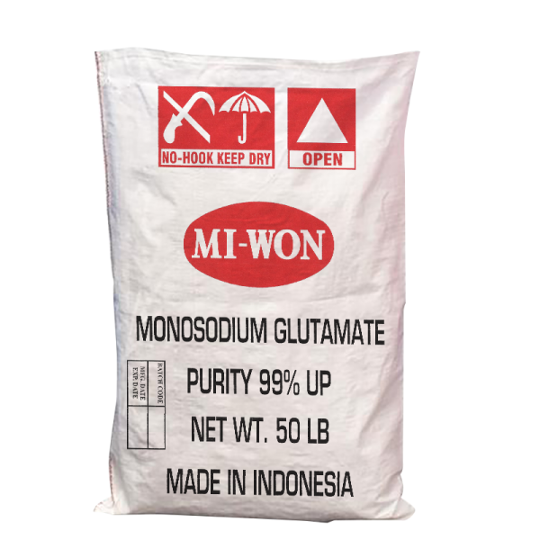 Miwon Monosodium Glutamate (50lbs x 1 bag) - Made in Indonesia