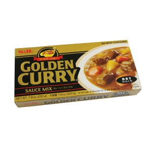 S & B Golden Curry 220g - Made in Japan (Hot)