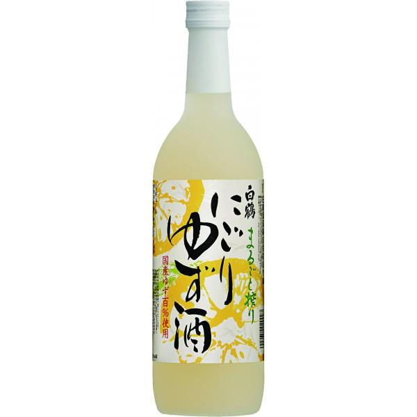Hakutsuru Marugoto Shibori Nigori Yuzu Shu 720ML